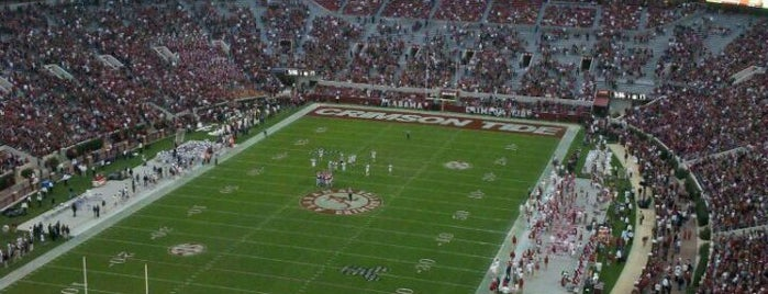 Bryant-Denny Stadium is one of Great Sport Locations Across United States.