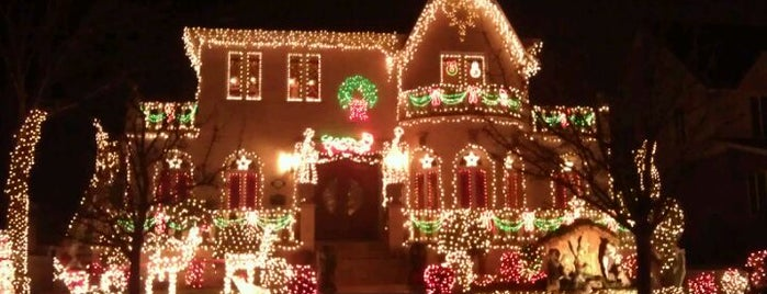 Dyker Heights Christmas Lights is one of NY.