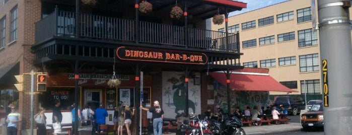Dinosaur Bar-B-Que is one of NY Jets Training Camp.