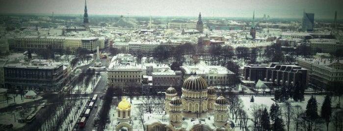Radisson Blu Latvija Conference & SPA Hotel is one of Unveil Riga : Atklāj Rīgu : Открой Ригу.