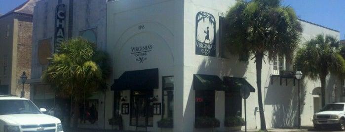Virginia's On King is one of 20 favorite restaurants.