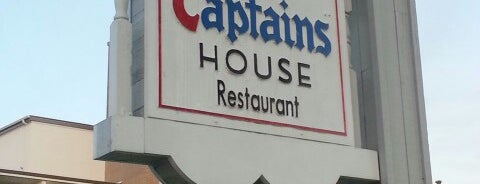 Sea Captain's House Restaurant is one of 20 favorite restaurants.