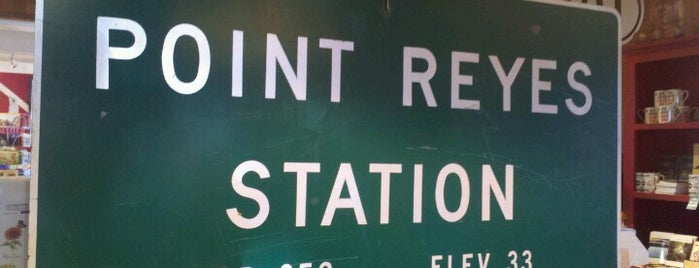 Town Of Point Reyes Station is one of San Francisco.