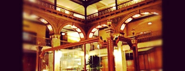 The Brown Palace Hotel and Spa is one of Historic Hotels to Visit.