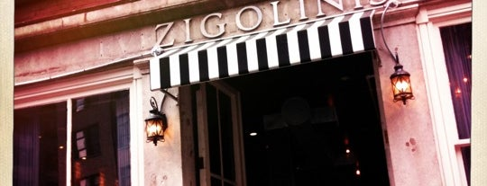 Zigolini's is one of NYC/MHTN: International.