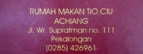 RM Bagan Aciang is one of Pekalongan World of Batik.