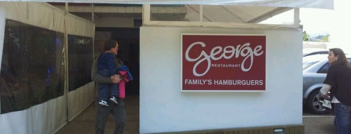 George Restaurant is one of Sandwicherias de Santiago.