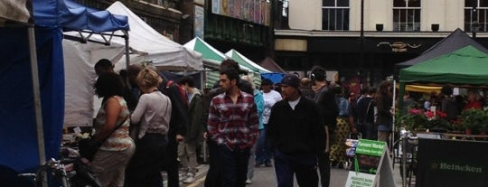 Brixton Farmers' Market is one of London.