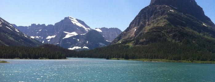 Glacier National Park - St. Mary Enterance is one of Best Places to Check out in United States Pt 3.