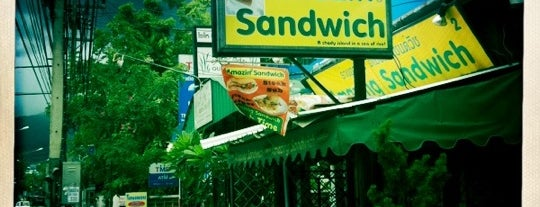 Amazing Sandwich is one of Chiang Mai, Thailand.