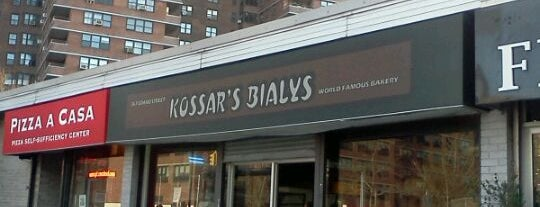 Kossar's Bialys is one of New York.