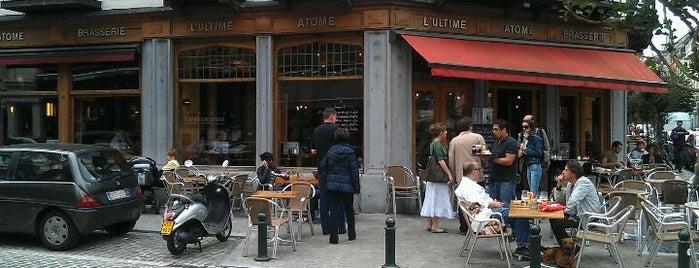 L'Ultime Atome is one of Bruxelles Restos & Café etc.