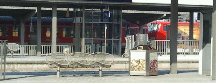 Landshut Hauptbahnhof is one of Bahnhöfe DB.