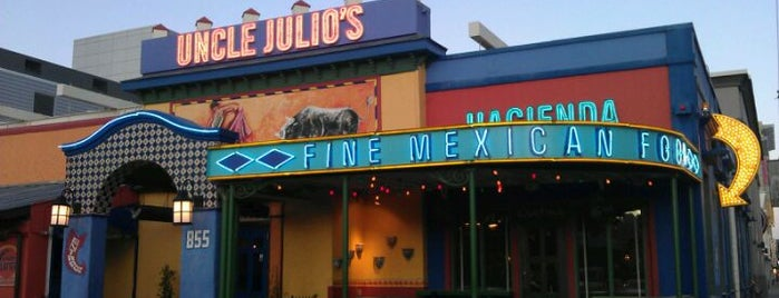 Uncle Julio's Hacienda is one of Chicago.