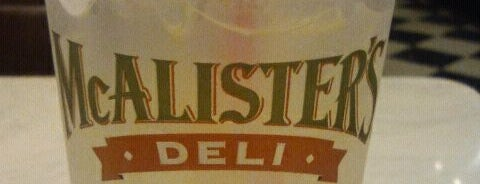 McAlister's Deli is one of My Places.