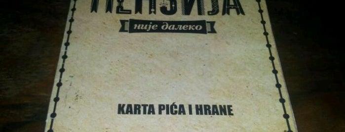 Penzija is one of todo.beograd.