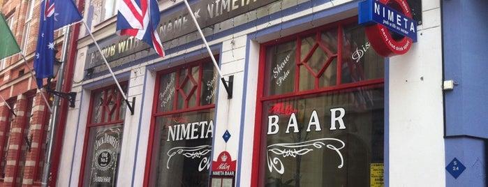 Nimeta Bar is one of Tallinn.