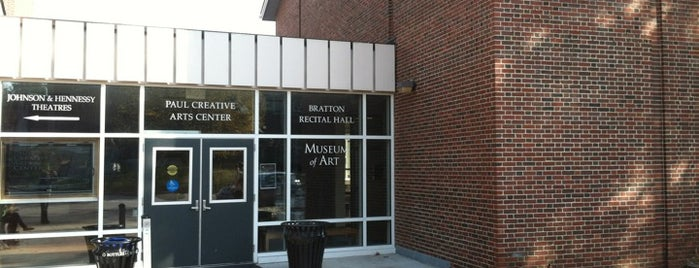 Paul Creative Arts Center is one of UNH Sustainability.