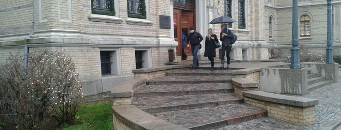 University of Latvia is one of UltimateRiga in 128 steps.