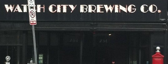 Watch City Brewing Co. is one of Boston Beer Tours: Breweries.