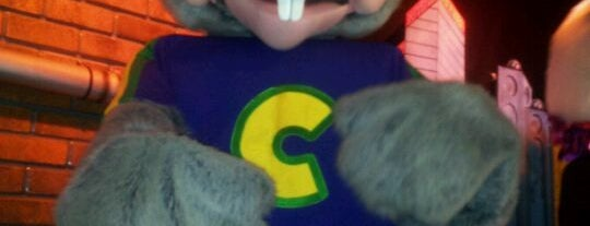 Chuck E. Cheese's is one of Love to go.
