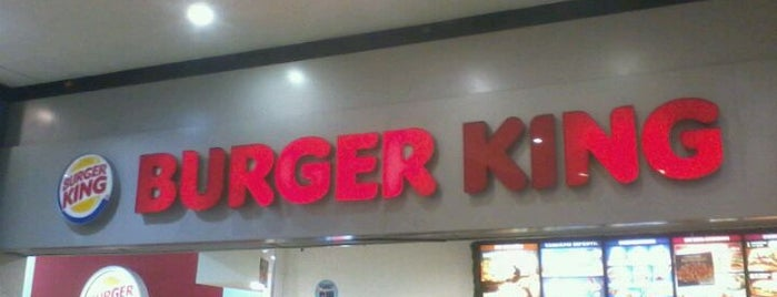 Burger King is one of Estive aqui.