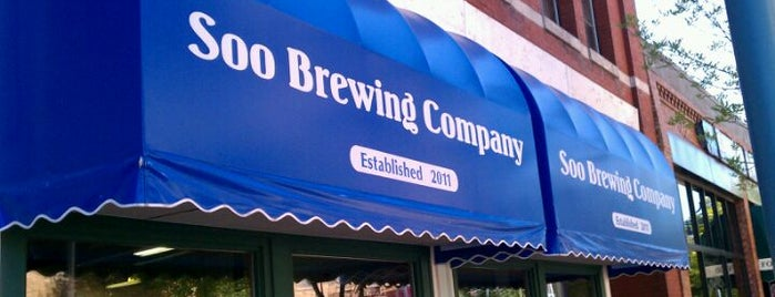 Soo Brewing Company is one of Michigan Breweries.