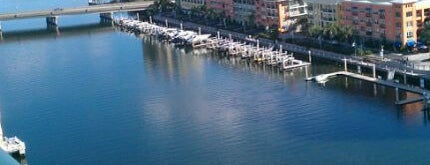 Tampa Marriott Waterside Hotel & Marina is one of Hotels I've Stayed At.