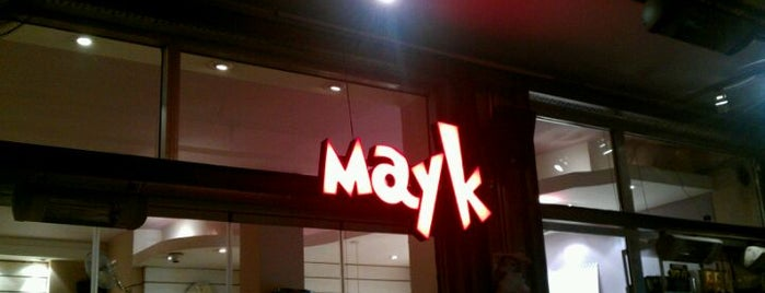 Mayk Cafe is one of Istanbul - Europe.