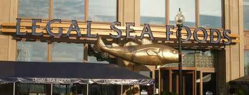 Legal Sea Foods is one of Boston's Best Seafood - 2012.