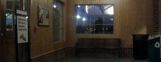 Amtrak - Burlington Station (BNC) is one of Trains - North Carolina.