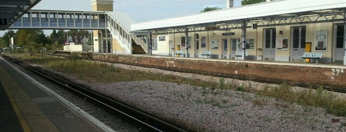 Canterbury West Railway Station (CBW) is one of Train stations.