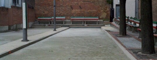 Little Italy Bocce Court is one of The Great Baltimore Check-In.