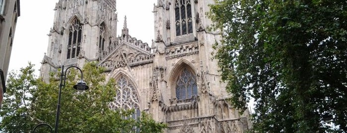 York Minster is one of Favorite affordable date spots.