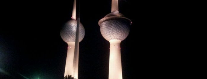 Kuwait Towers is one of Best places in Kuwait.