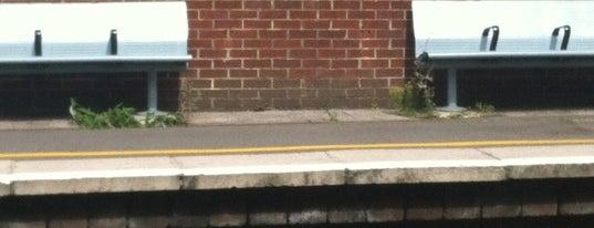 Eltham Railway Station (ELW) is one of Train stations.