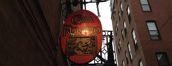 Casa Romero is one of Places to try.