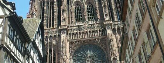 Catedral de Notre-Dame de Estrasburgo is one of Strasbourg.