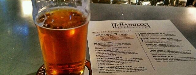 Handles Gastropub is one of Hipster Happy Hour.