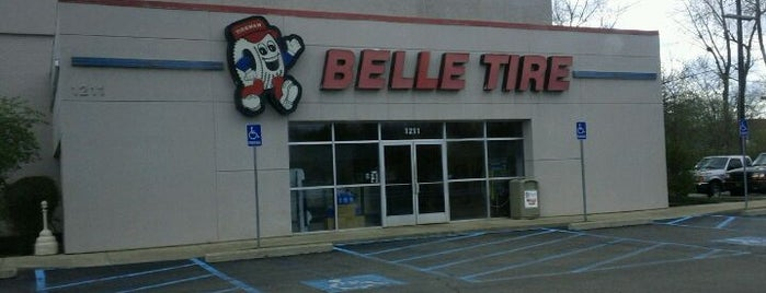 Belle Tire is one of places i go.
