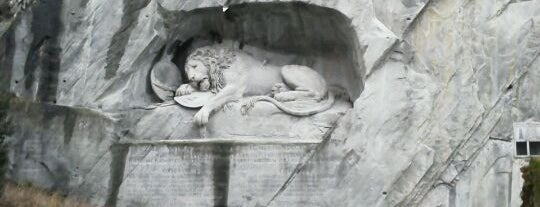 Lion Monument is one of Discover Lucerne.