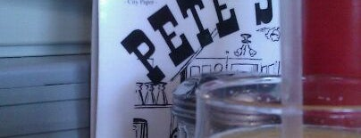 Pete's Grille is one of Baltimore Chowdown.