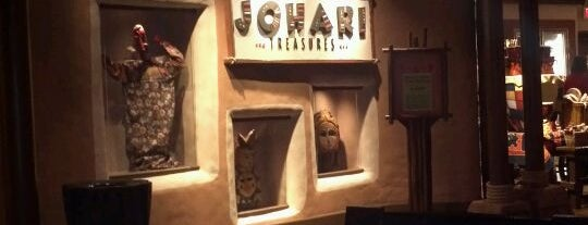 Johari Treasues is one of Walt Disney World.