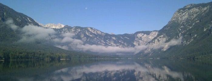 Lake Bohinj is one of Slovenia 2013.