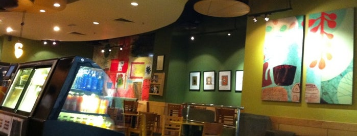 Starbucks is one of My favorites for Coffee Shops.