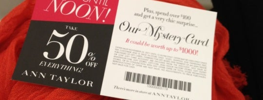 Ann Taylor is one of Chevy Haul | Black Friday 2011.