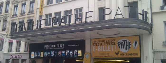 Pathé Bellecour is one of Orange Cinéday.
