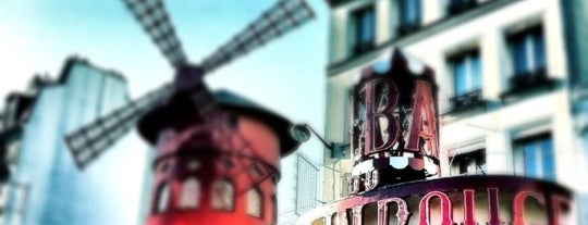 Moulin Rouge Restaurant is one of Paris.