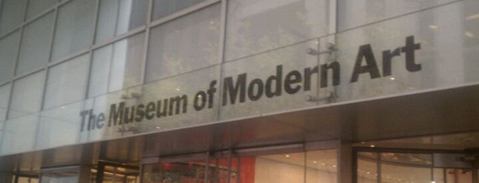 Museum of Modern Art (MoMA) is one of My favorite places.
