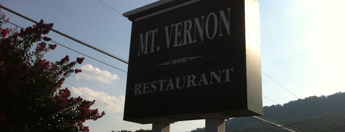 Mt. Vernon Restaurant is one of #CHAeats #4sq Specials.